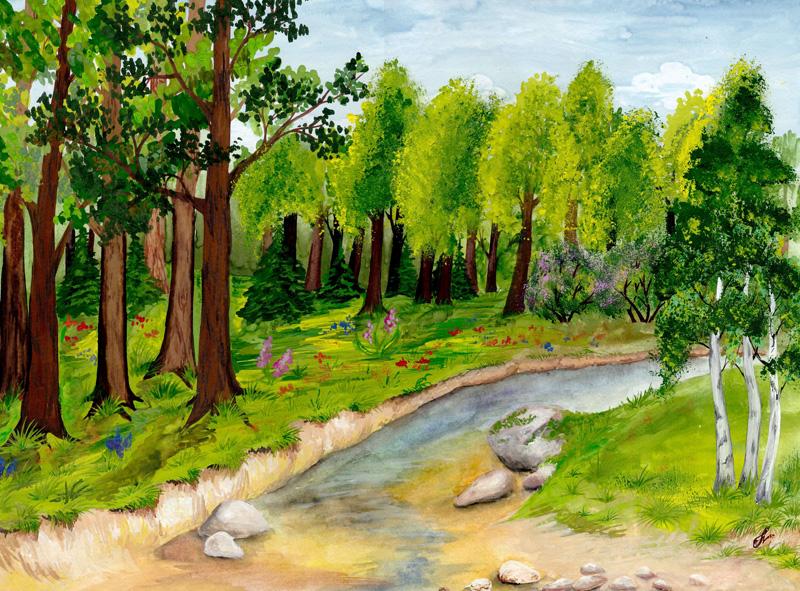 Картинки для детей лесничий